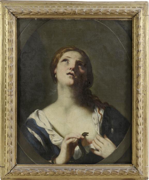 Una Cleopatra attribuita a Guido Cagnacci da Meeting Art