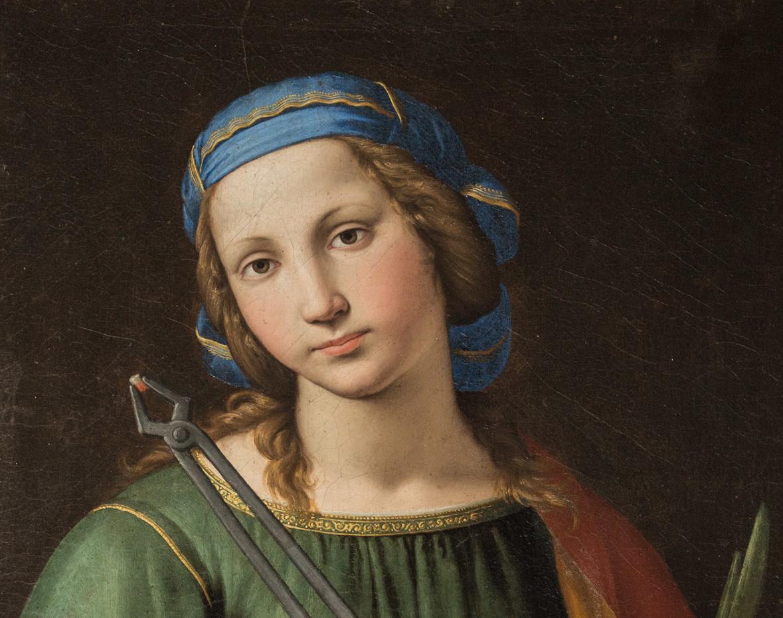 Giovan Battista Salvi detto il Sassoferrato, Santa Apollonia. Perugia, San Pietro