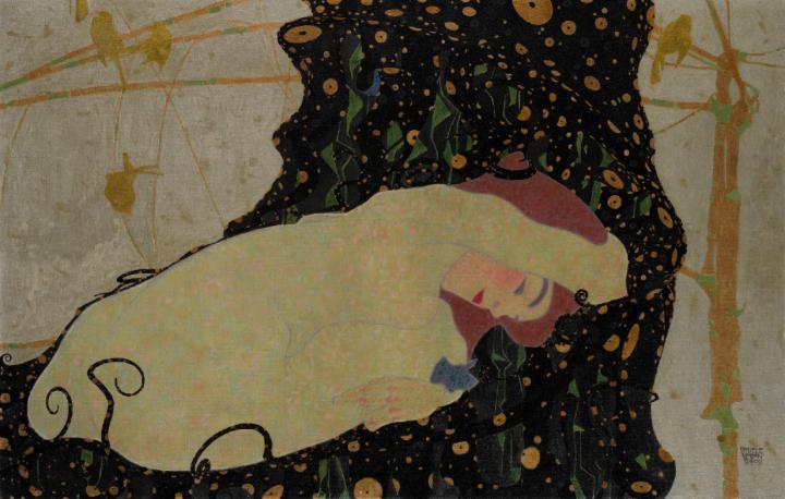 Egon Schiele, Danae, 1909 sotheby's