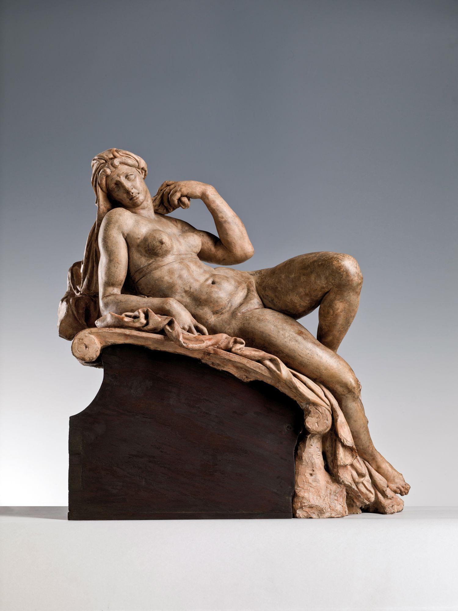 Niccolo Tribolo (1497-1558) Aurora 1534-1537 circa terracotta; h. cm 55 Firenze, Museo Nazionale del Bargello