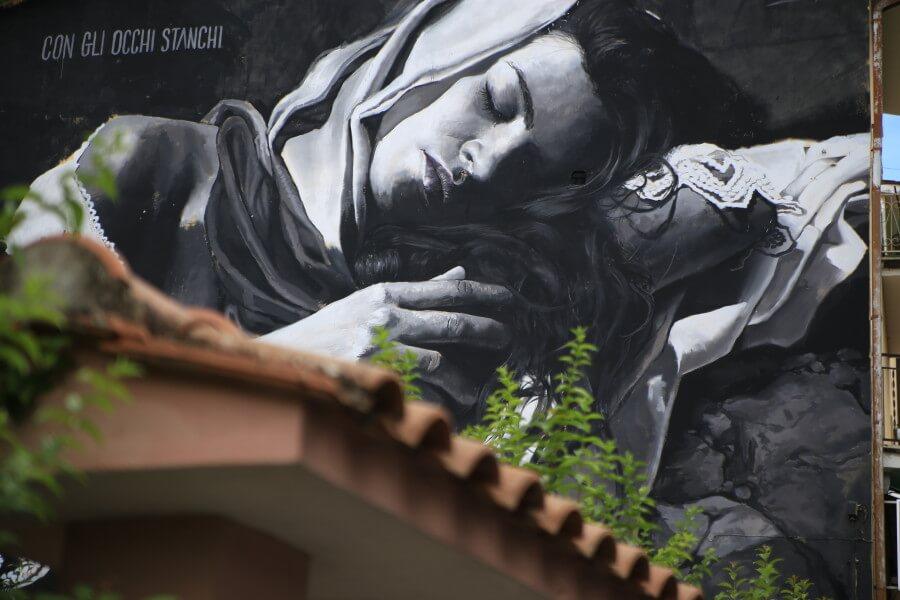 """Street art. La seconda edizione di """"Pubblica"""" colora Selci"""