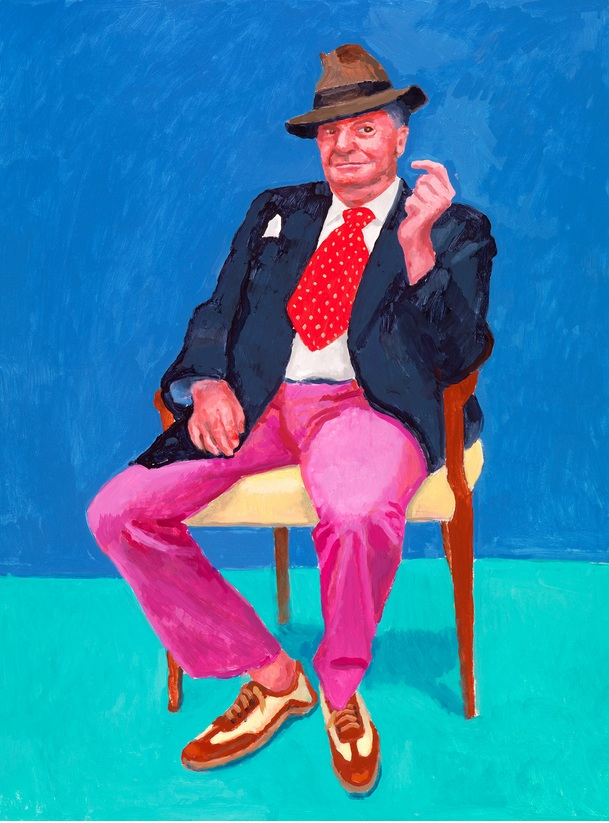 David Hockney. 82 portraits and 1 still-life