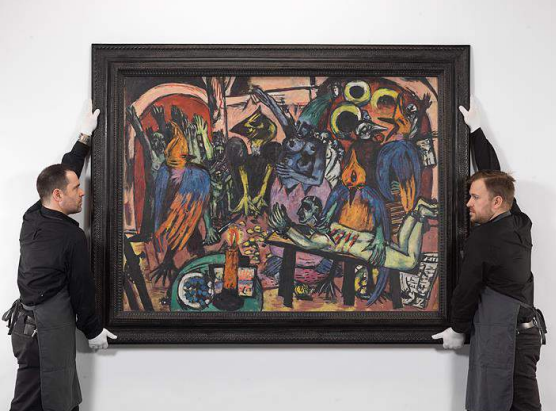 Bird's Hell Beckmann 1938 Christie's