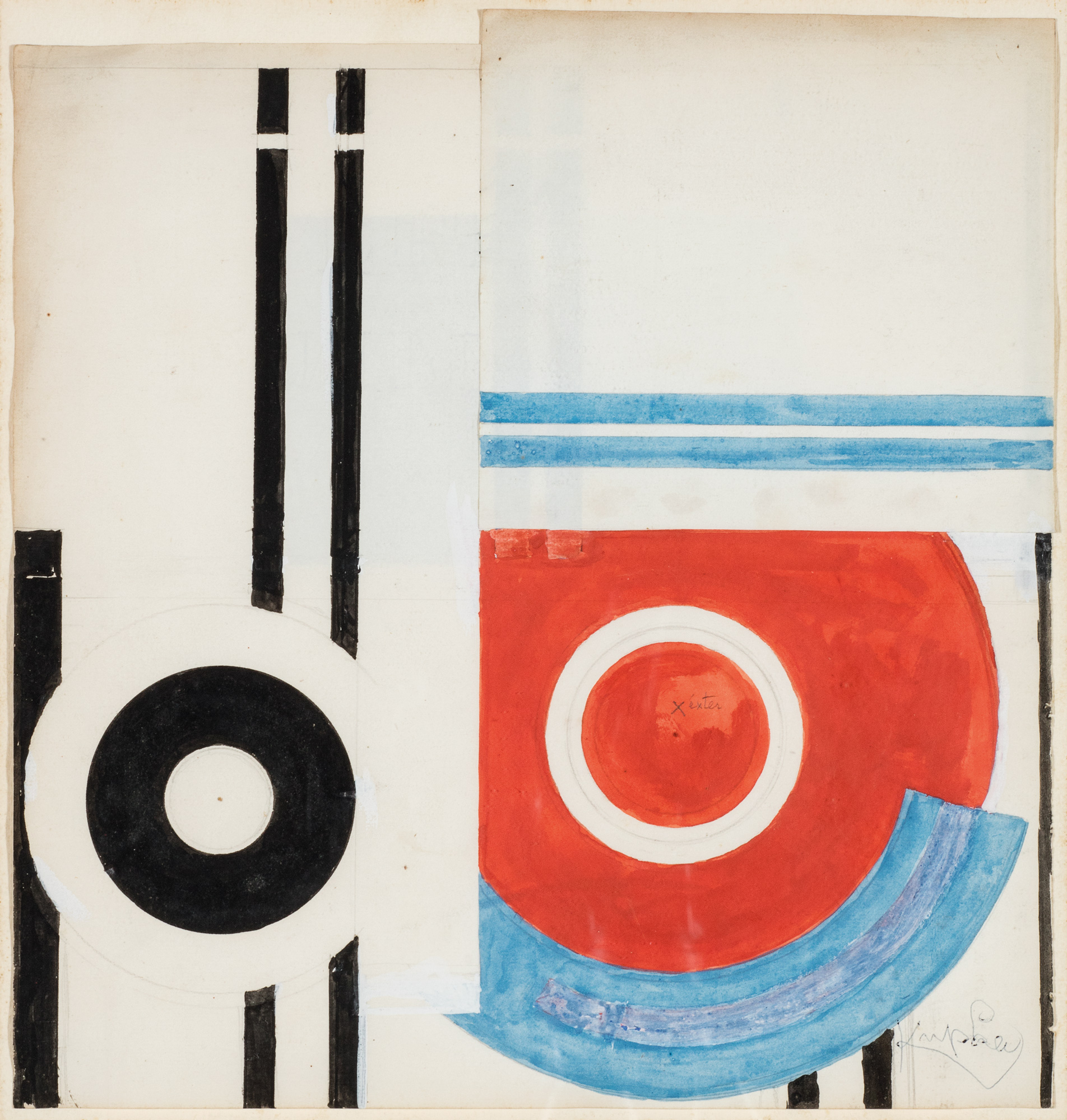 Frantisek Kupka, Disques et traits noir, 1932, Lotto 247, Minerva Auctions