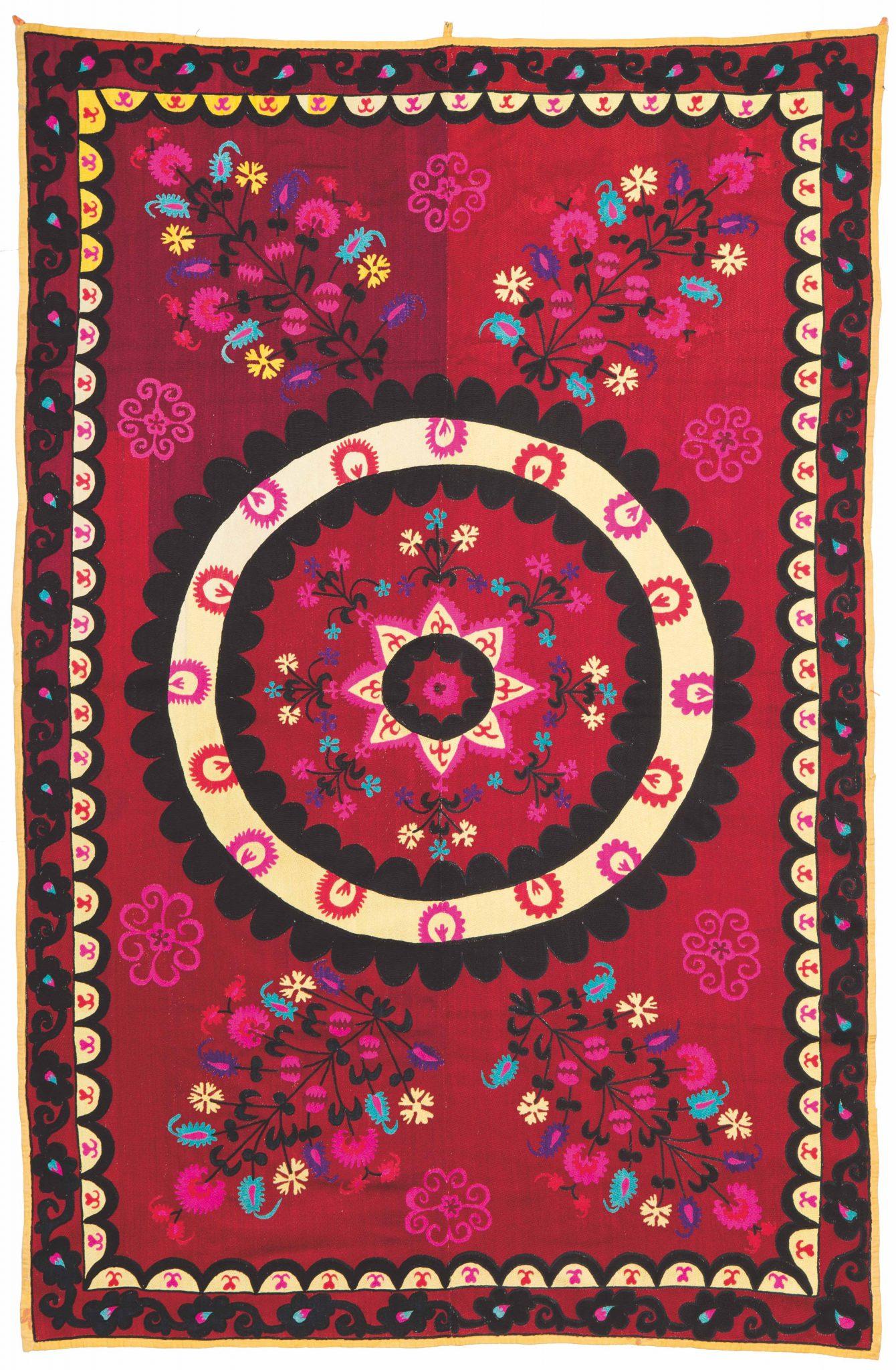 Tappeti e tessuti antichi. Il giro del mondo nel catalogo Wannenes