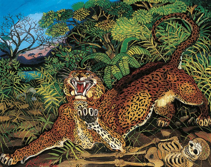 Leopardo di Ligabue
