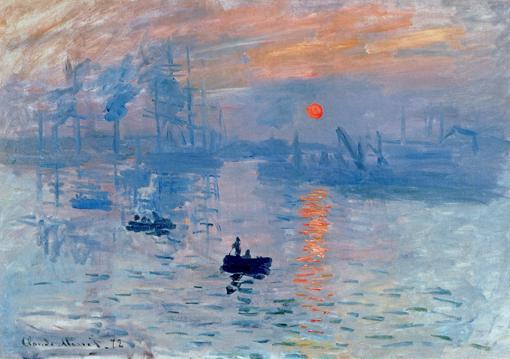 Claude Monet, Impression soleil levant, 1872, Fondation Pierre gianadda