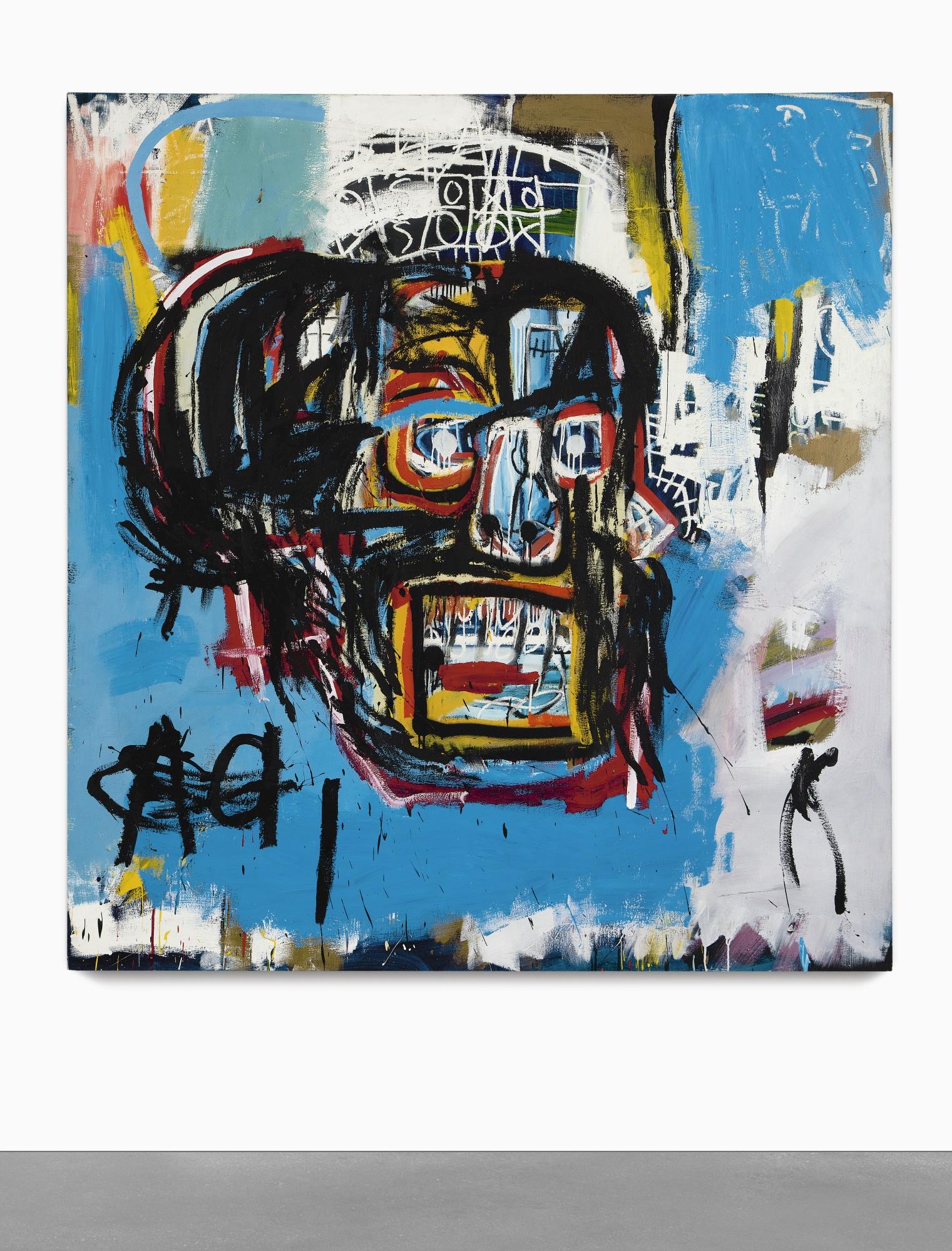 Basquiat: nuovo record da Sotheby's per 110,487,500 $