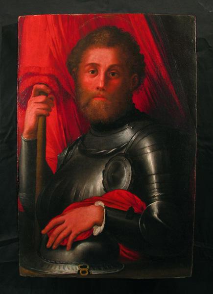 Artista toscano, San Torpè, pittura a olio su tavola, sec. XVI, Museo Nazionale San Matteo di Pisa