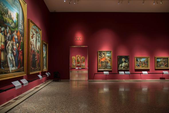 06-Il-primo-allestimento-della--Pinacoteca-di-Brera-sala-21