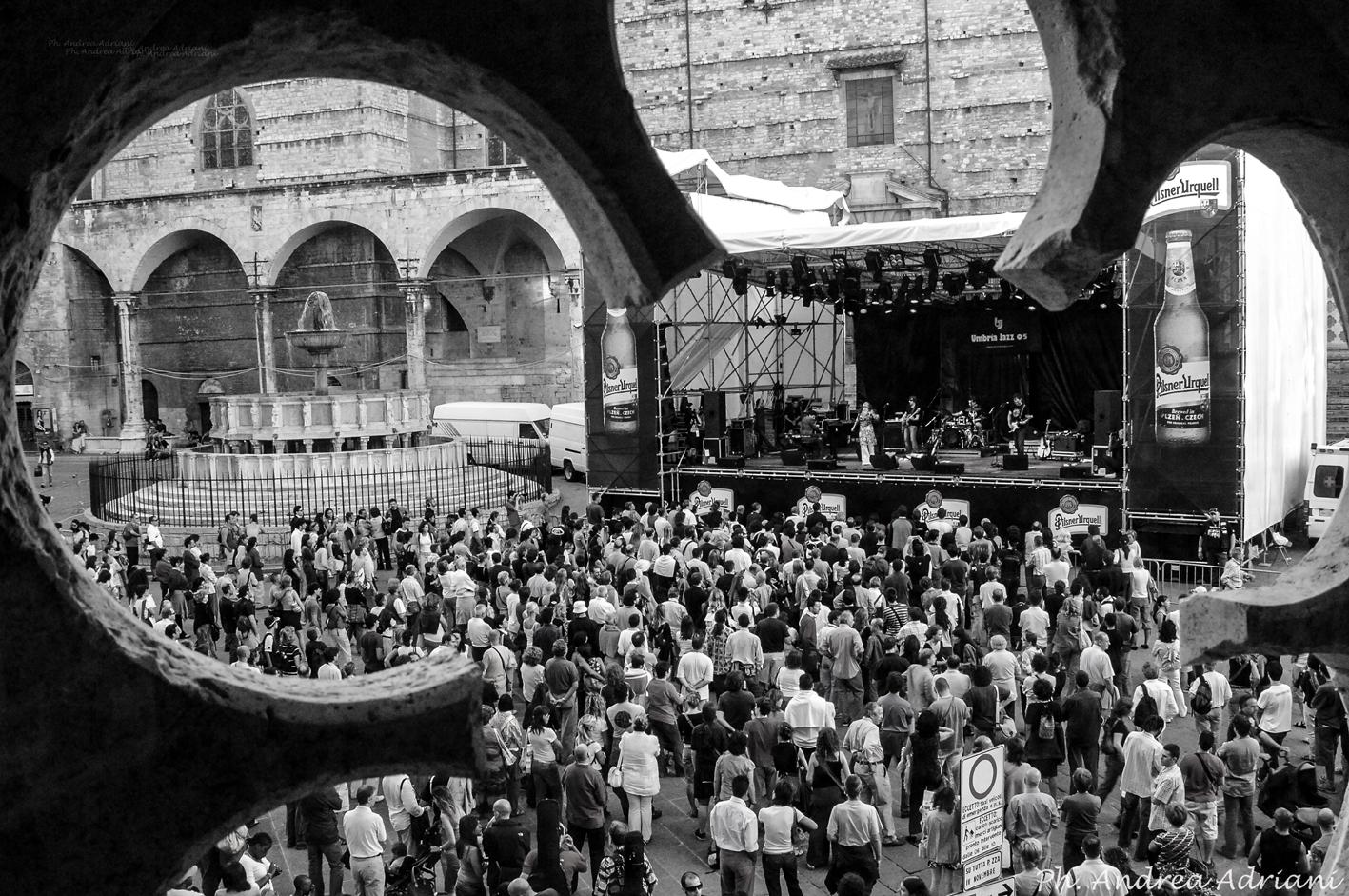 Umbria Jazz Festival, Perugia, Fotografia di Andrea Adriani