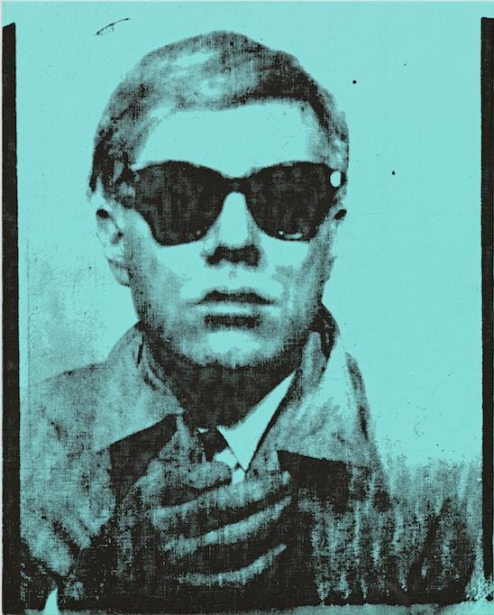 L'antesignano del Selfie in asta. Il primo autoritratto di Andy Warhol da Sotheby's