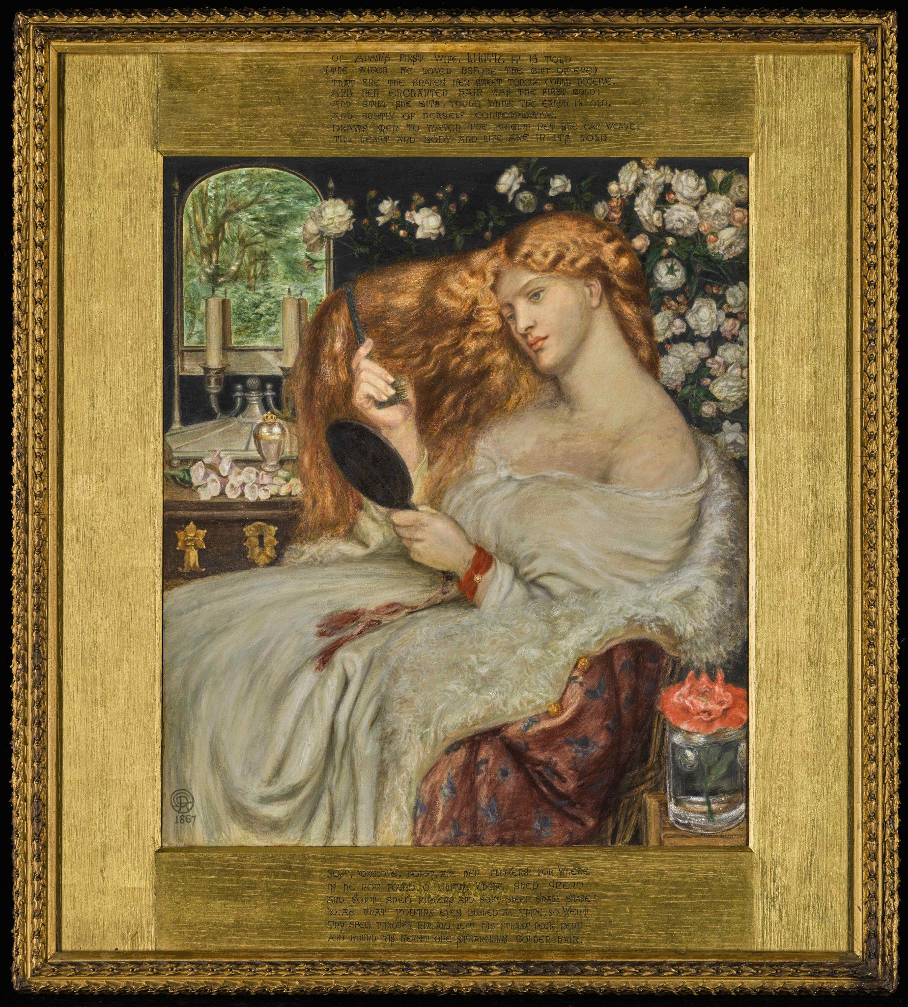 Lady Lilith in asta da Sotheby's celebra l'amante di Dante Gabriel Rossetti Fanny Cornforth