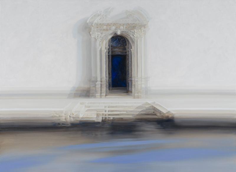 Roger de Montebello - Porta delle Terese - 2014 - oil on canvas
