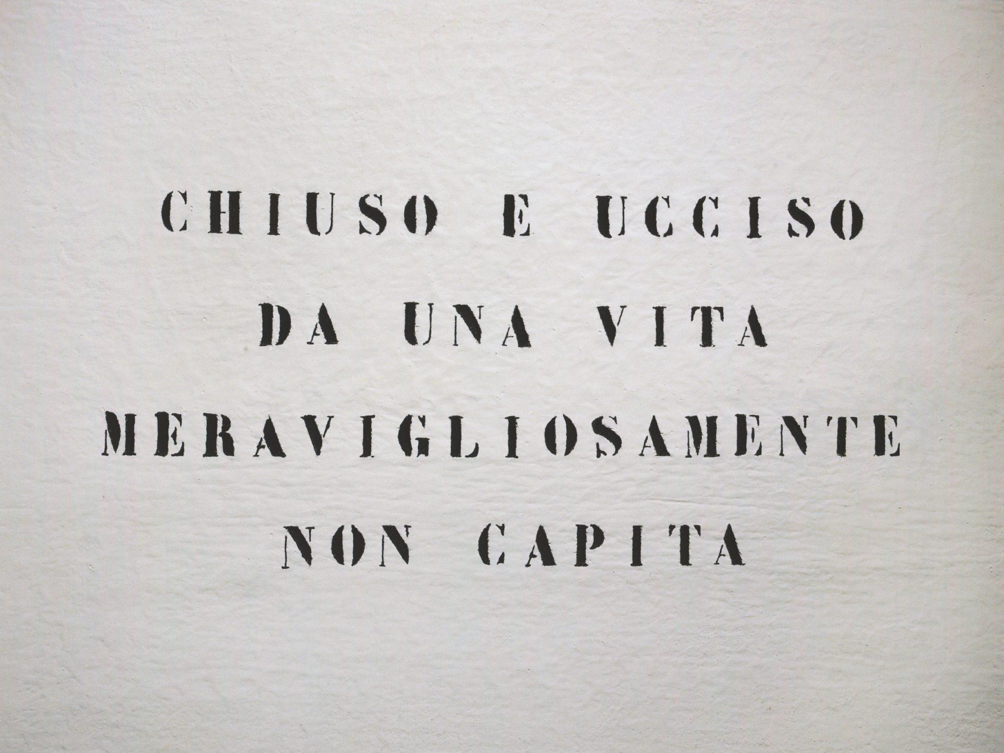 Vincenzo Agnetti. A cent'anni da adesso a Palazzo Reale di Milano