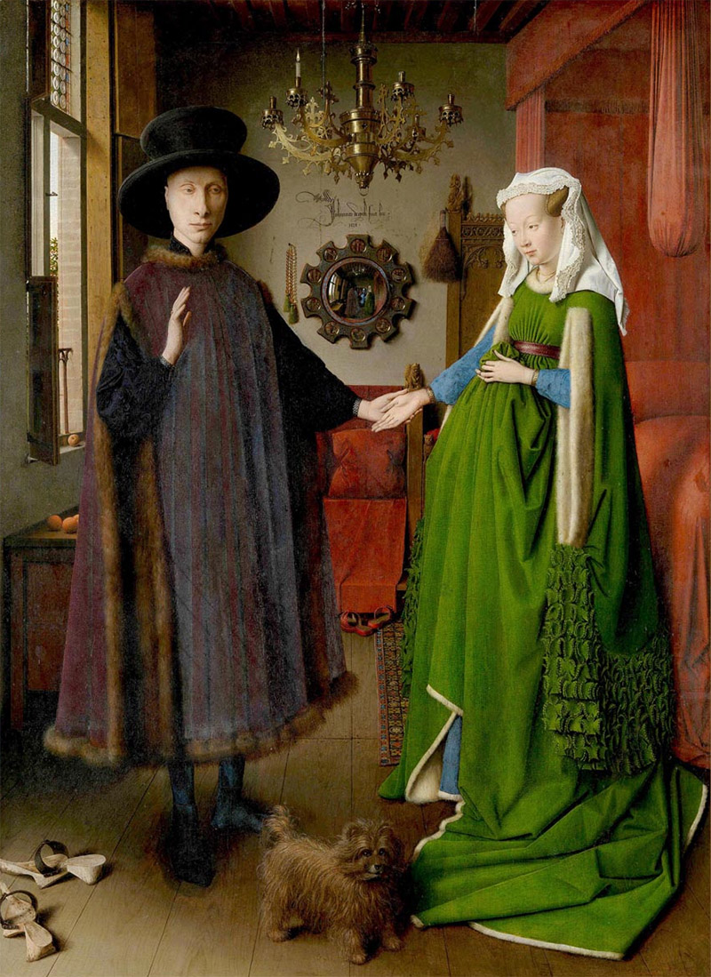 Misteri, apparizioni, morte. I Coniugi Arnolfini di van Eyck riletti da Jean-Philippe Postel