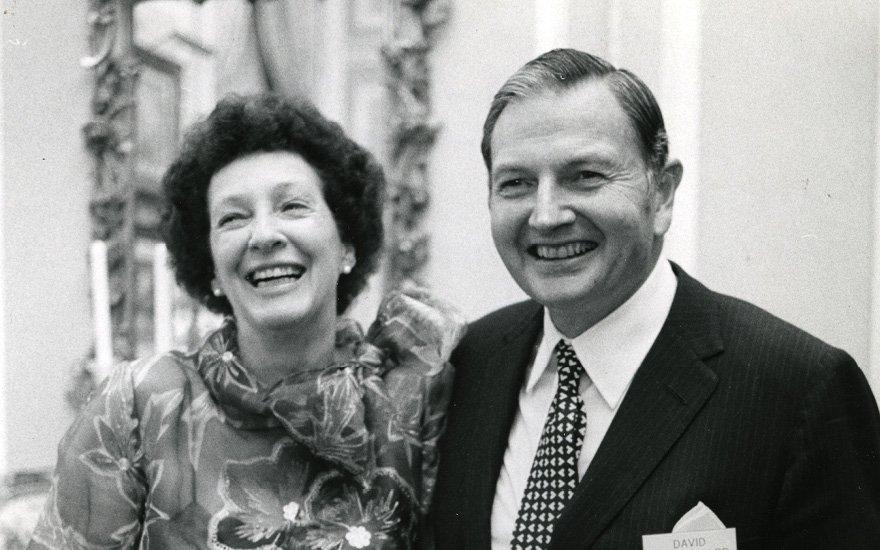 David e Peggy Rockfeller, Maggio 1973, New York