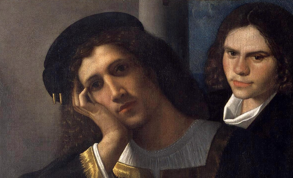 Giorgione. Due amici