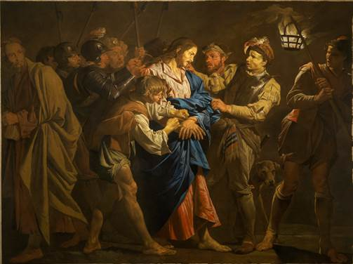 Matthias Stomer, La Cattura di Cristo, 1640, Benappi Fine Art Londra