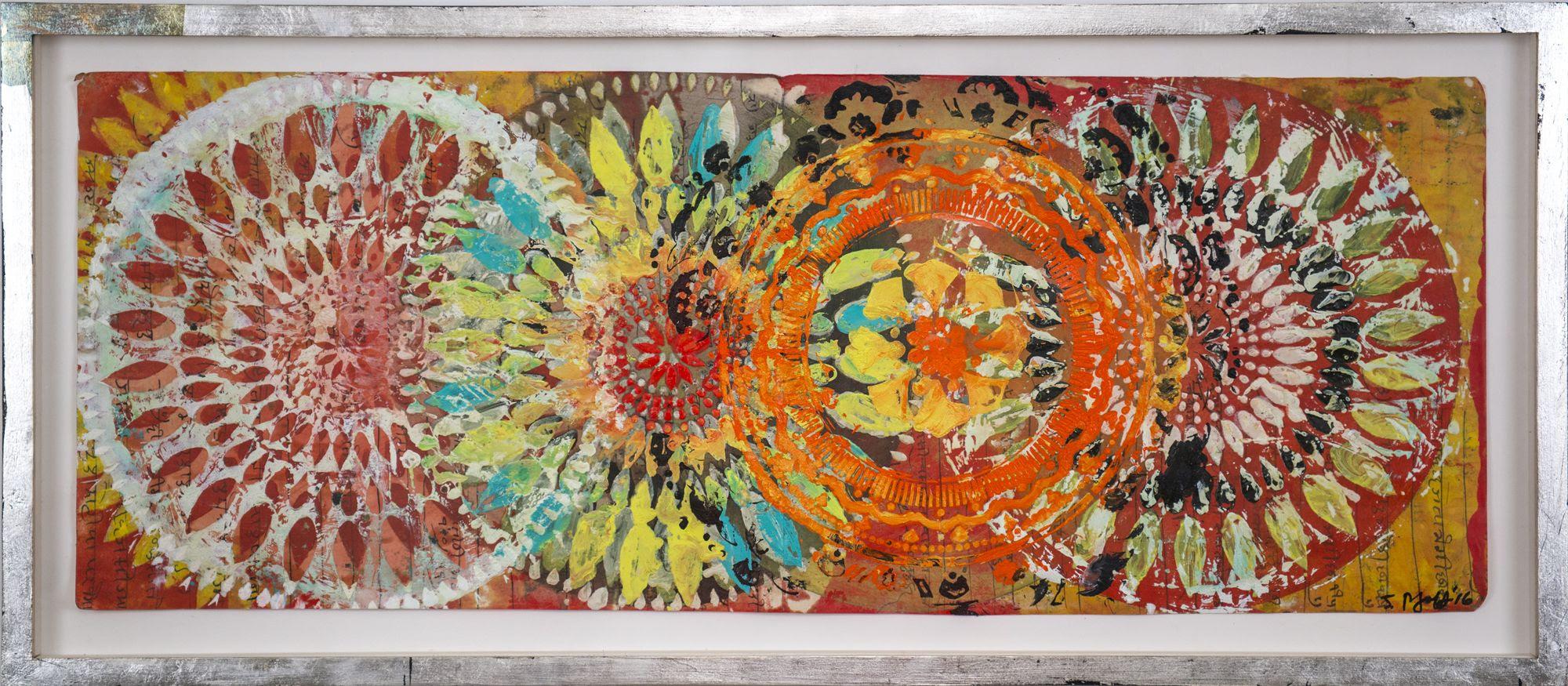 Judy Pfaff, Abstratc Poetry galleria AICA capri