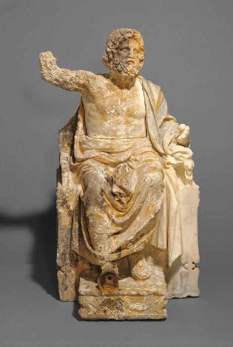Il Getty Museum restituisce all'Italia una statua di Zeus