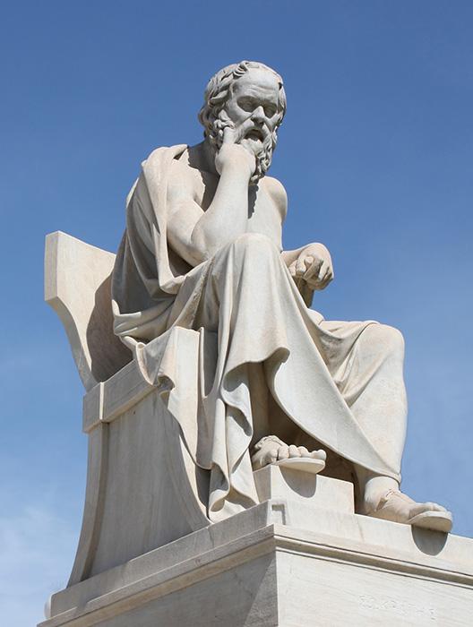 La pittura e l'origine dei nomi secondo Socrate