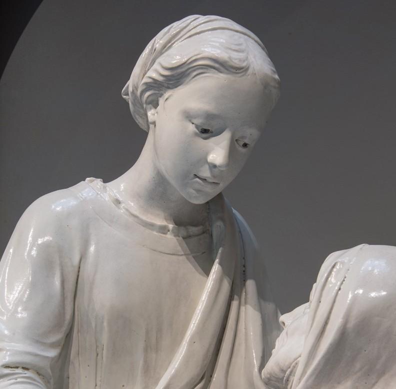 La Visitazione di Luca della Robbia torna a Pistoia