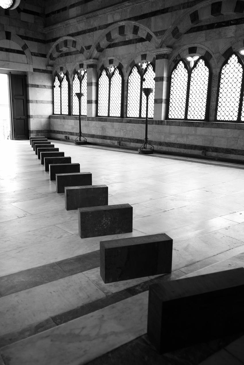 A Pisa, l'installazione di Richard Nonas per la Chiesa della Spina