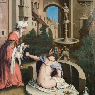 Sassoferrato, Betsabea al bagno, Perugia