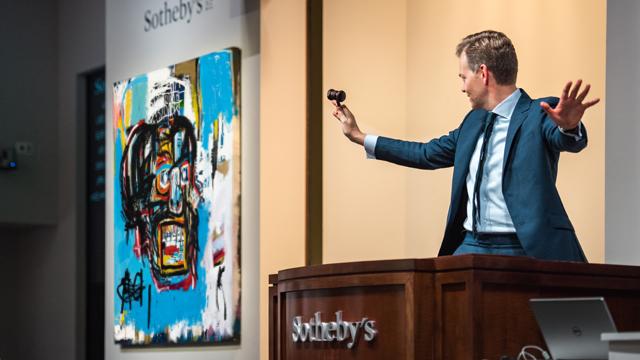 I semestre 2017: +12,8% per l'Italia. 5,7 mld $ per Christie's e Sotheby's international