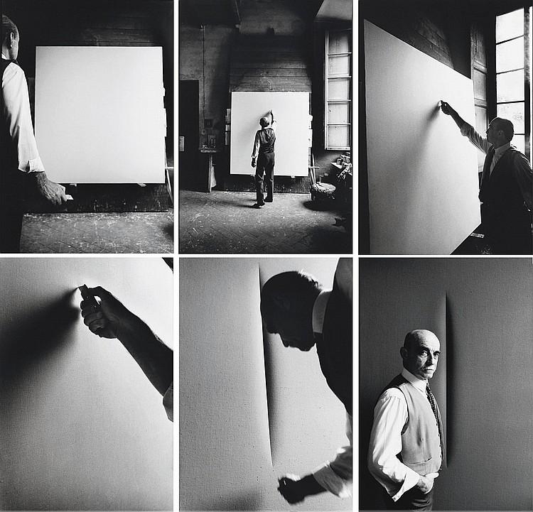 Ugo Mulas fotografa Lucio Fontana