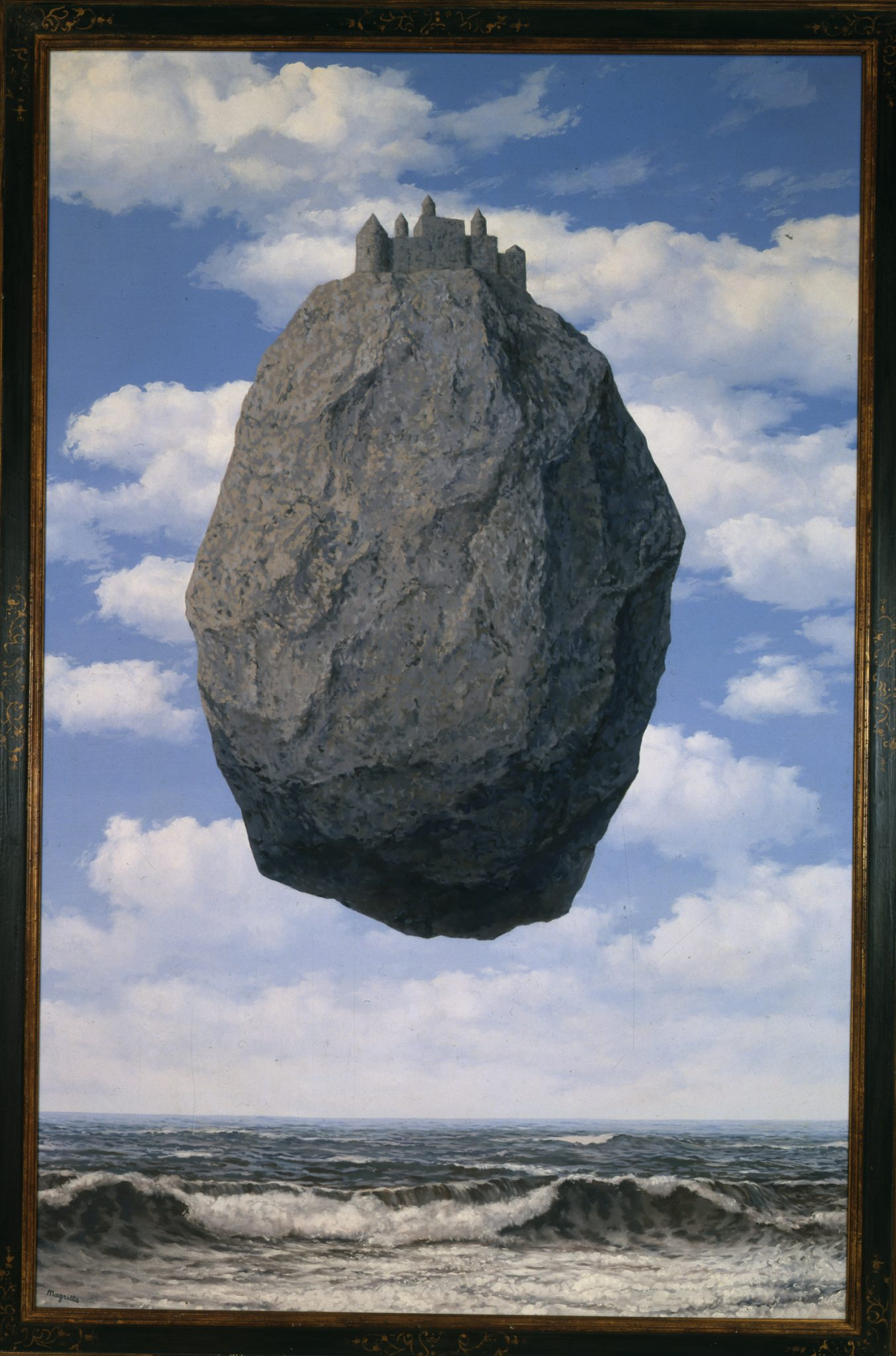 Renè Magritte, Belgian, 1898-1967 Le Chateau de Pyrenees (The Castle of the Pyrenees), 1959 Oil on canvas, 200x145 cm The Israel Museum, Jerusalem Gift of Harry Torczyner, New York B85.0081 Photo © The Israel Museum, Jerusalem by Moshe Caine © Renè Magritte by SIAE 2017