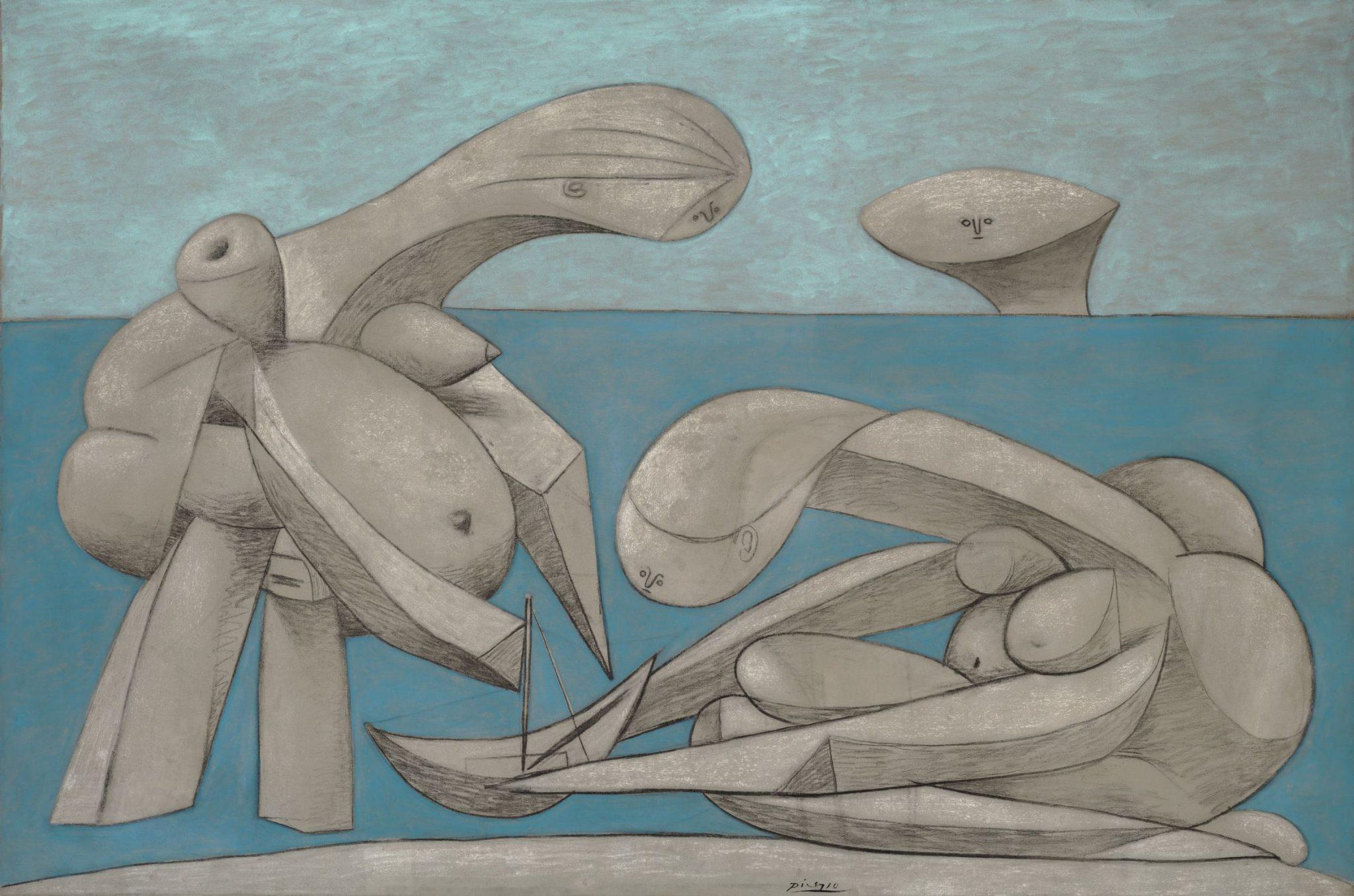 Pablo Picasso La Baignade