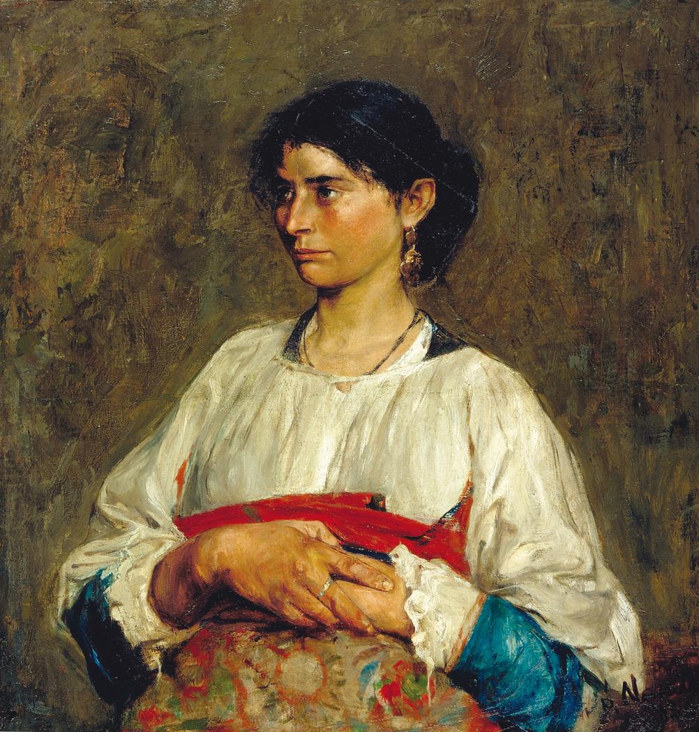 Plinio Nomellini - Ciociara, 1888