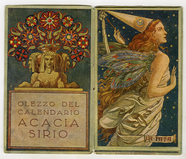 L'arte in tasca. Calendarietti, réclame e grafica 1920-1940 al Museo della Figurina di Modena