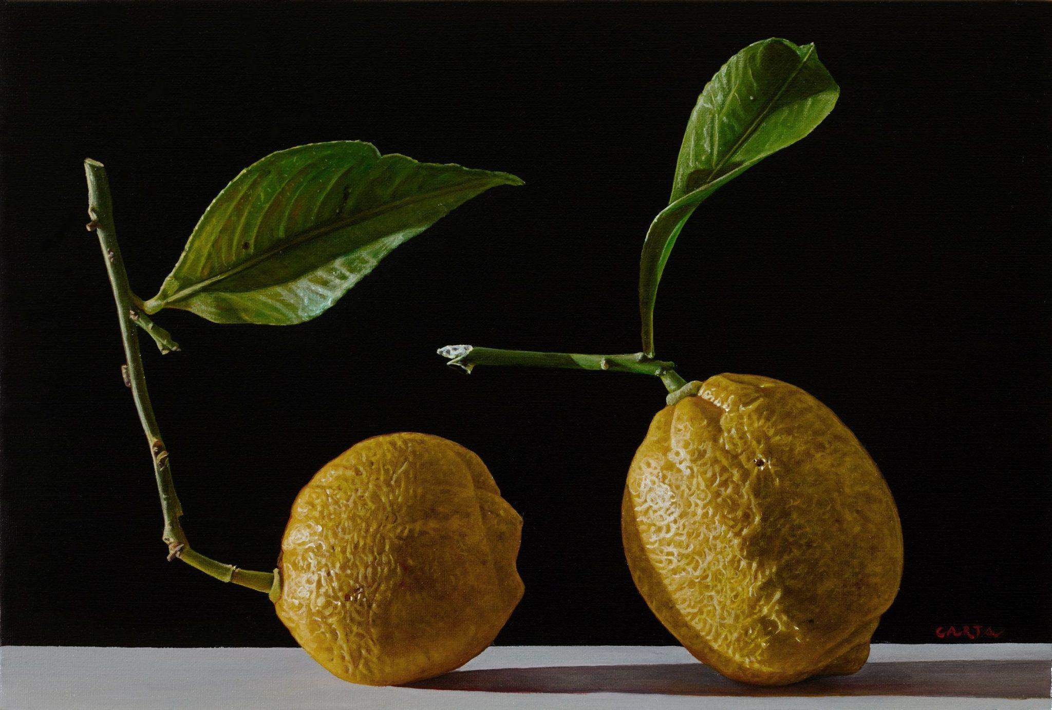Giuseppe Carta, Germinazioni, 2015-2016, olio su tela, cm 20x30