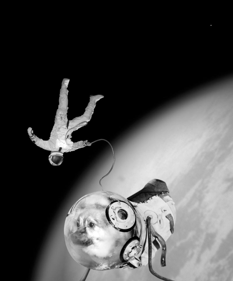 JOAN FONTCUBERTA IVAN ISTOČNIKOV E KLOKA DURANTE LA LORO STORICA EVA (ATTIVITÀ EXTRA VEICOLARE) © JOAN FONTCUBERTA BY SIAE 2017