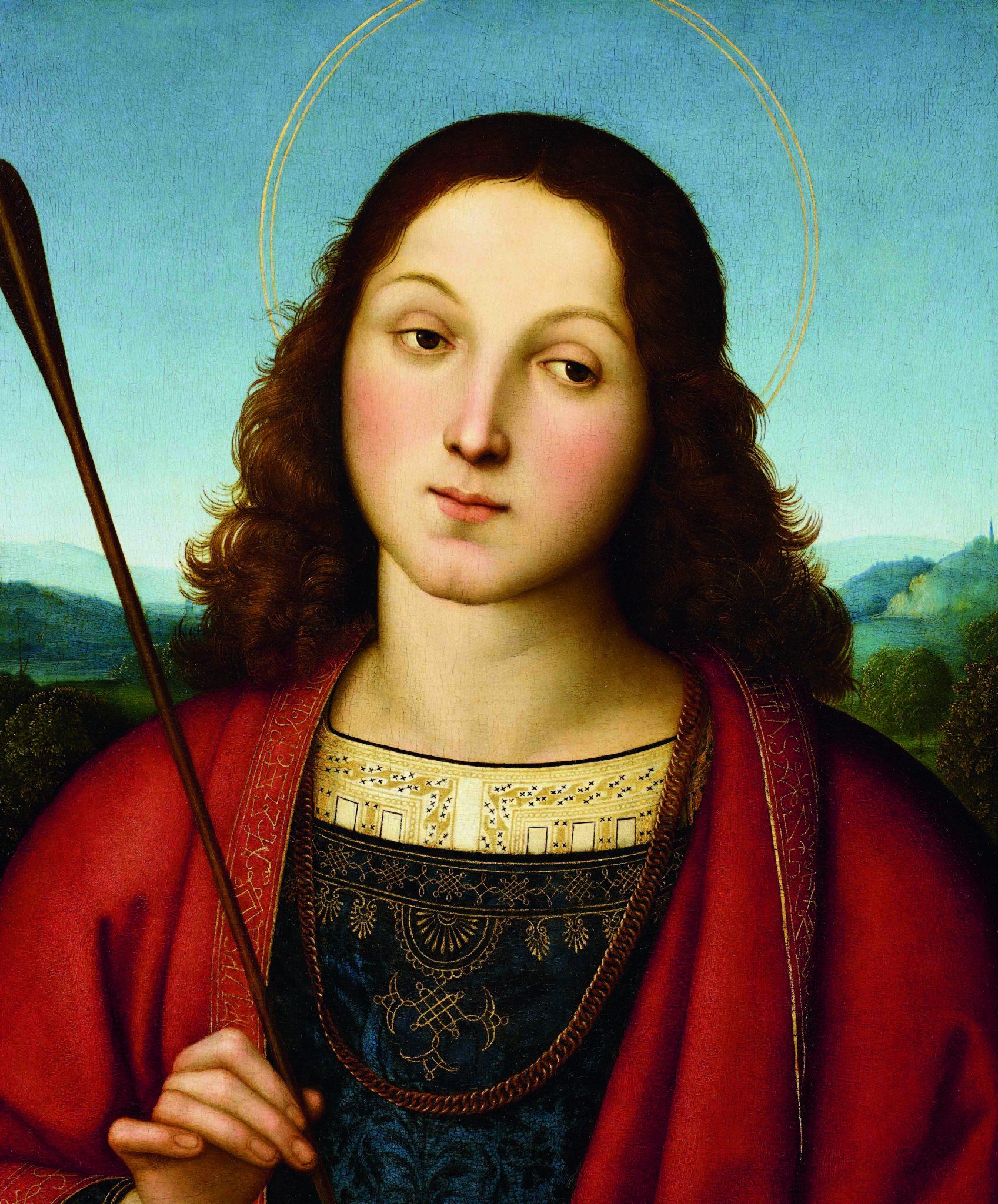 Raffaello Sanzio, San Sebastiano, circa 1502-1503