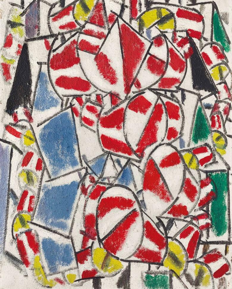 """""""Contraste de formes"""" Fernand Léger"""