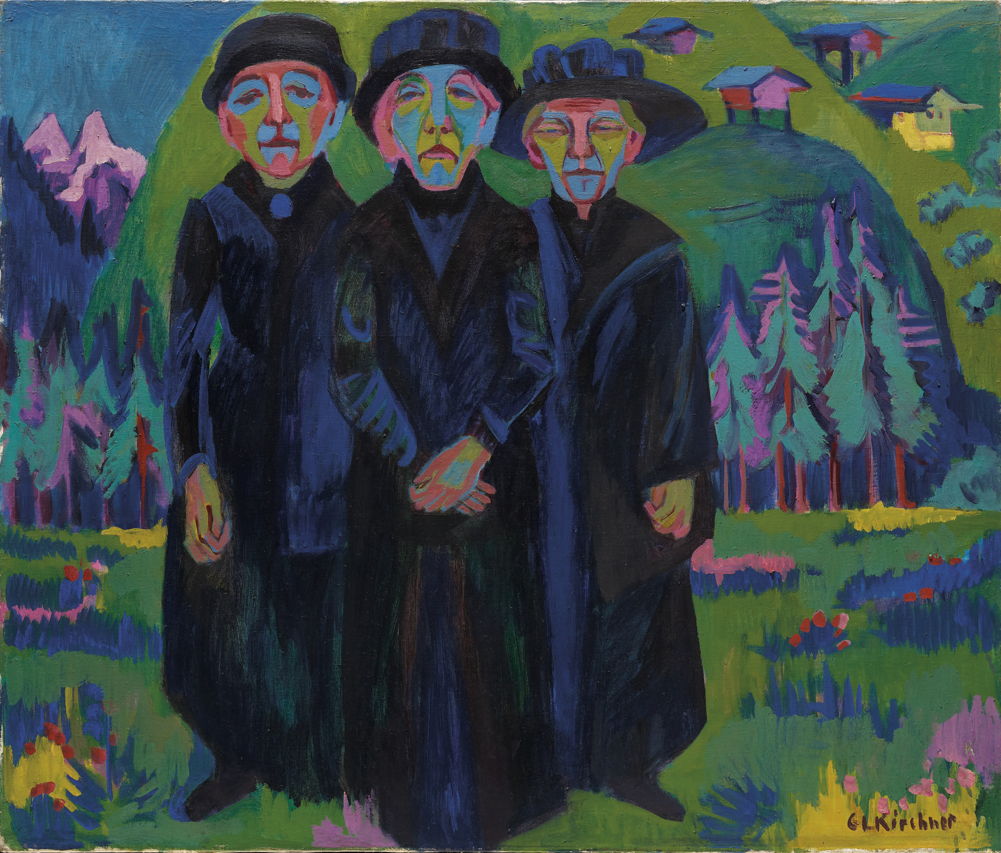 Espressionismo di Kirchner in una grande mostra a Cecina