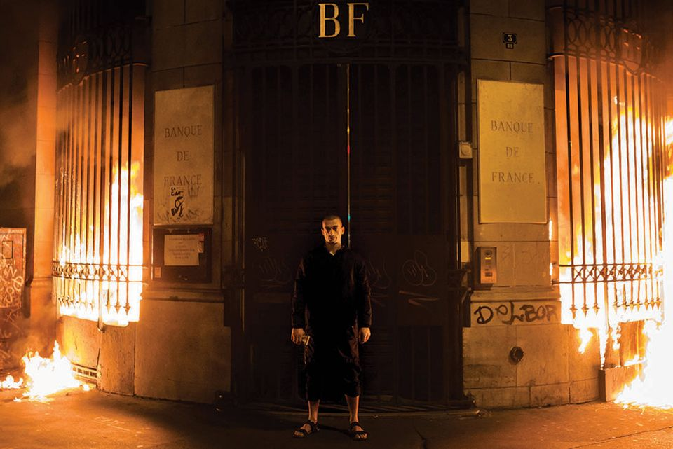 Petr Pavlensky Bank of france