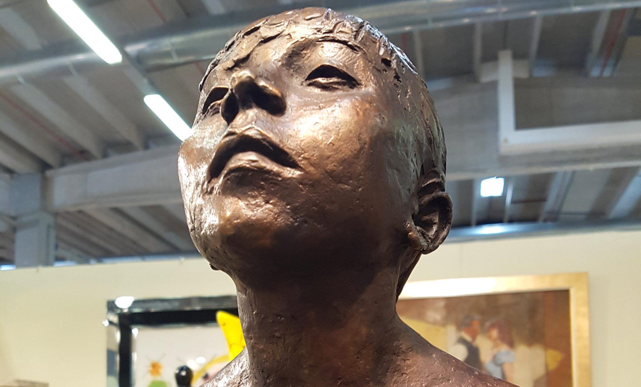 Dettaglio della Ballerina di Degas (fusa post mortem dell'artista dalla famiglia)
