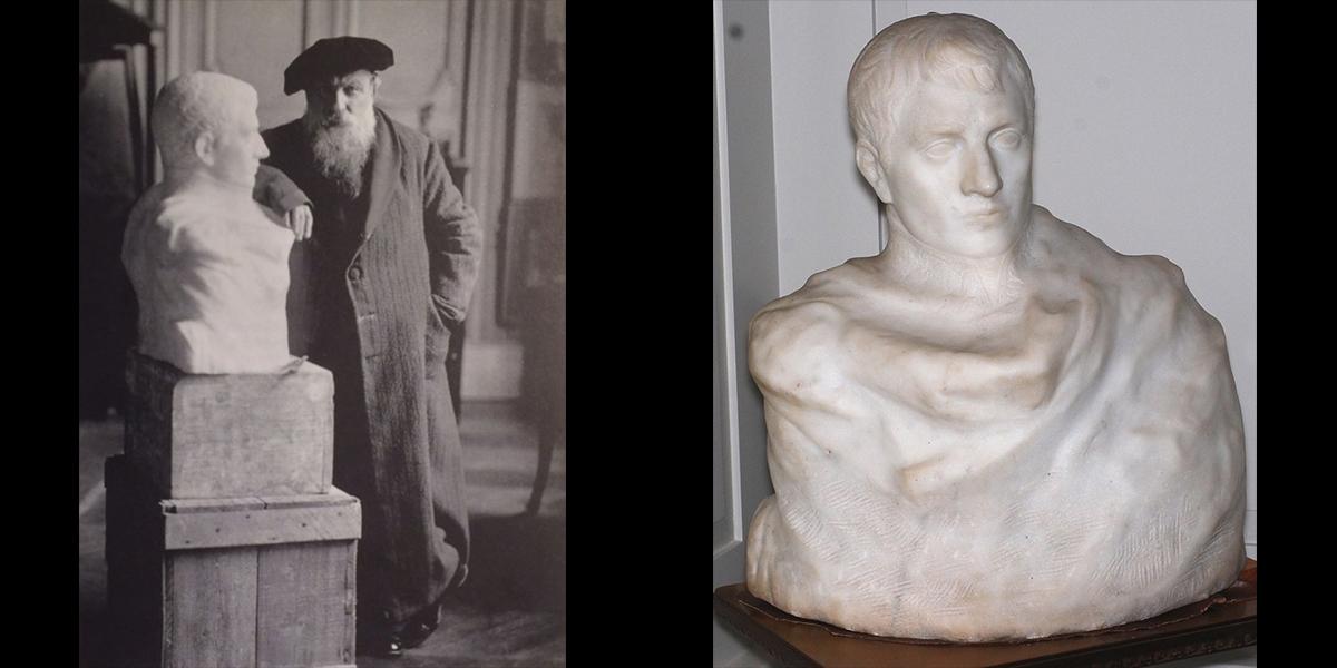 scultura perduta di Rodin
