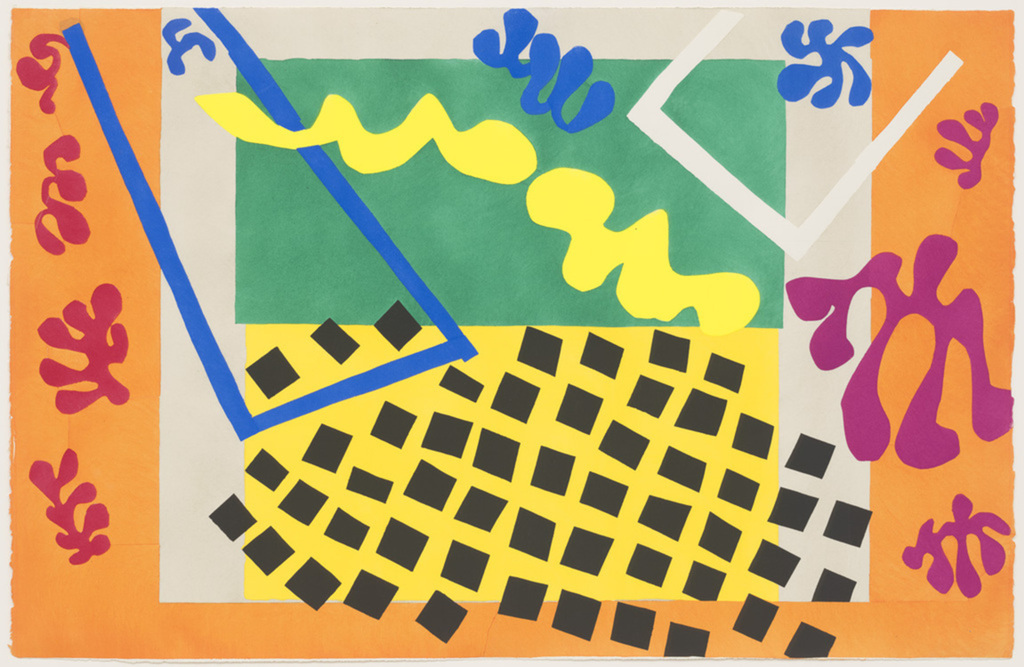 Cut-out Matisse