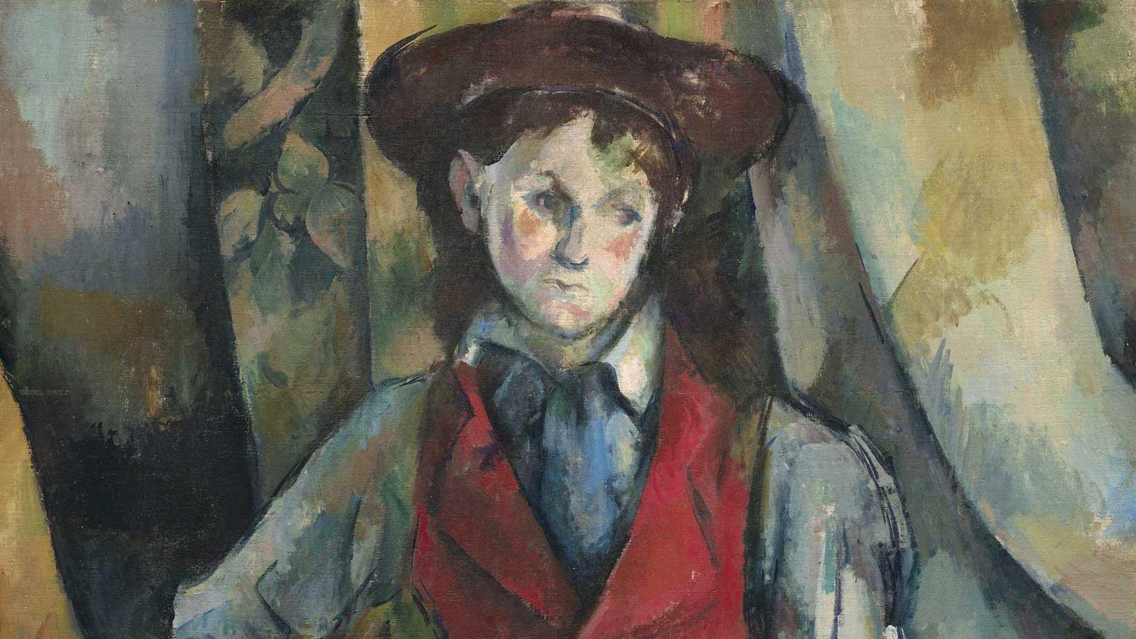 """""""Ragazzo in panciotto rosso"""" (1888-90)"""