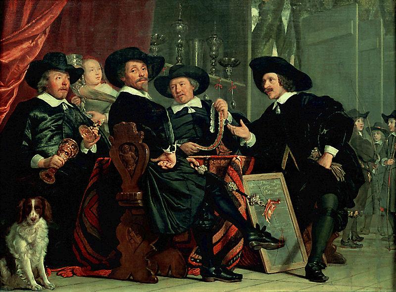 I Capi della Guardia Civica (1653) di Bartholomeus van der Helst