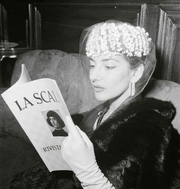 Maria Callas in scena, alla Scala in mostra i costumi della Divina