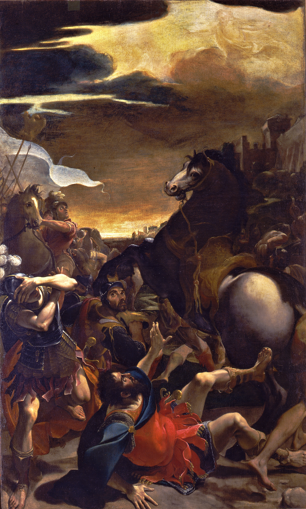 Ludovico Carracci: Conversione di Saulo