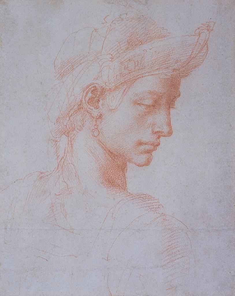 Michelangelo Buonarroti - Testa ideale