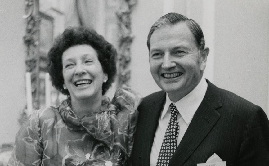 Peggy e David Rockefeller